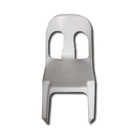 White Plastic Cater Chair